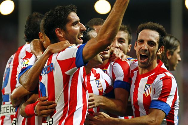 Atlético de Madrid - Málaga. Puntuaciones del Atlético de Madrid, 7ª jornada
