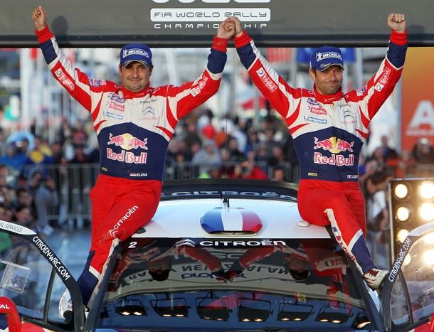 Loeb poursuit sa domination