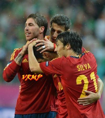 Sergio Ramos y Silva se muestran con ganas