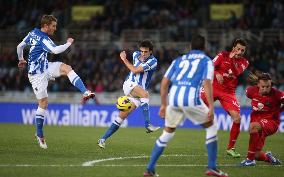 Real Sociedad - Getafe: puntuaciones Real Sociedad, jornada 15