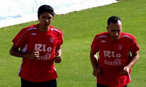 Galindo se entrena con el CD Lugo