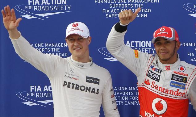 Schumacher no aclara su futuro y se concentra en las próximas carreras