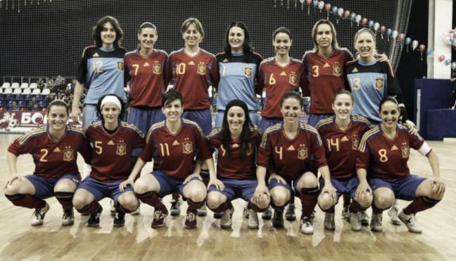 Nueva convocatoria de la selección femenina de fútbol sala