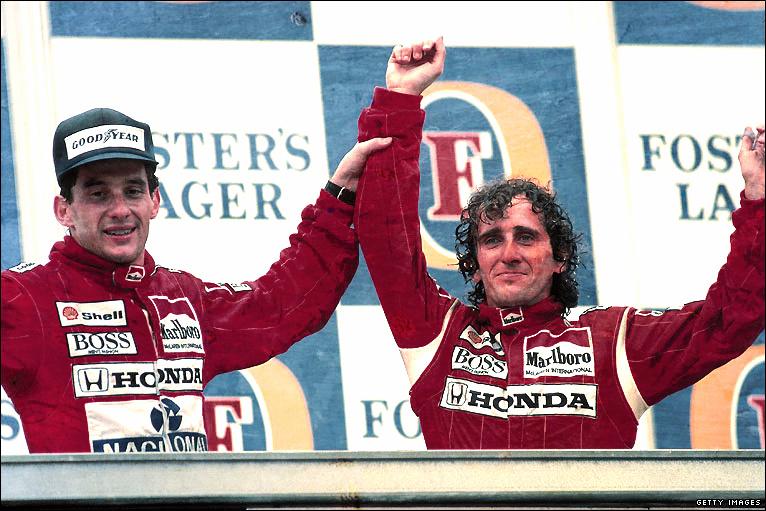 GP de Suzuka 1989: Prost y Senna se retan sobre el tatami japonés