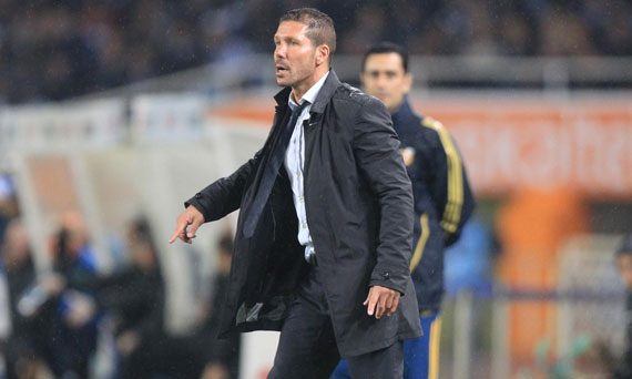 Simeone, números de Champions League