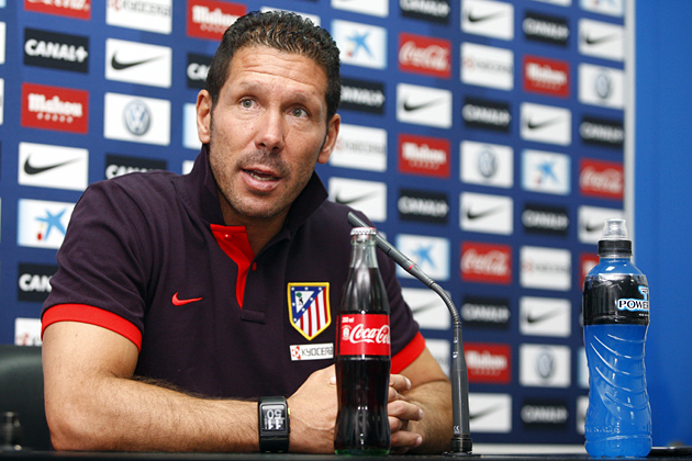 """Simeone: """"Es un día importante para el Club, pero hay que ir partido a partido"""""""