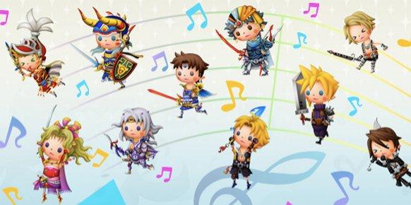 Theatrhythm Final Fantasy llega a nuestros dispositivos iOS