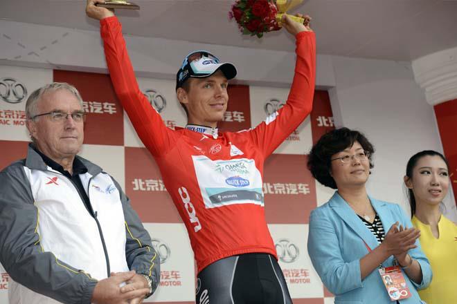 Tony Martin se proclama vencedor del Tour de Pekín