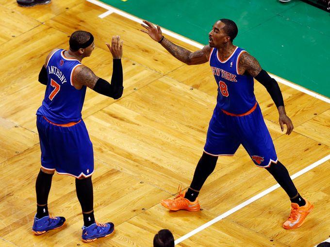 Knicks vence a terceira seguida e complica Celtics