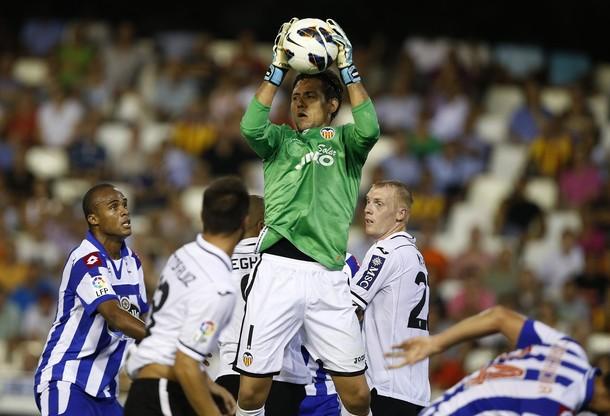 El Valencia se deja empatar ante un efectivo Deportivo