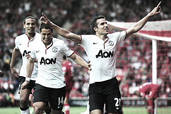 Resumen jornada 3 Premier League: Van Persie salva al Manchester United