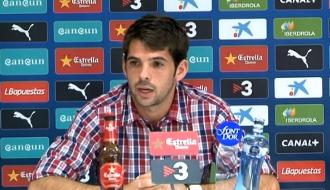 Víctor Sánchez: ''El equipo tiene mucho fútbol''