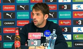 Víctor Sánchez: ''Hay que empezar a sumar de 3 en 3''