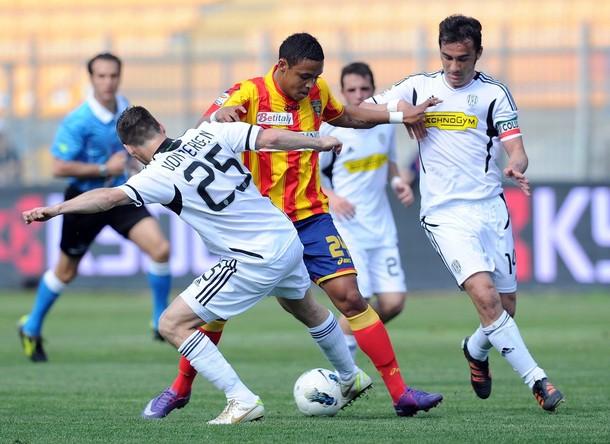 Il Cesena ferma il Lecce, 0-0 al Via Del Mare