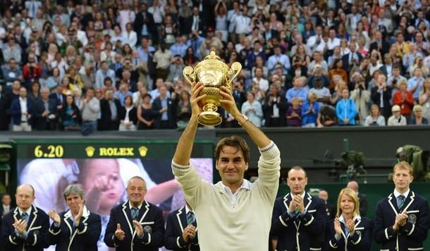 Wimbledon : Federer est magique
