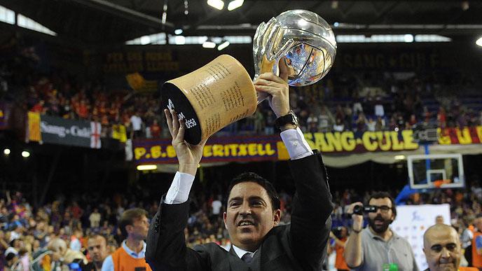 Xavi Pascual renueva con el Barça hasta 2015