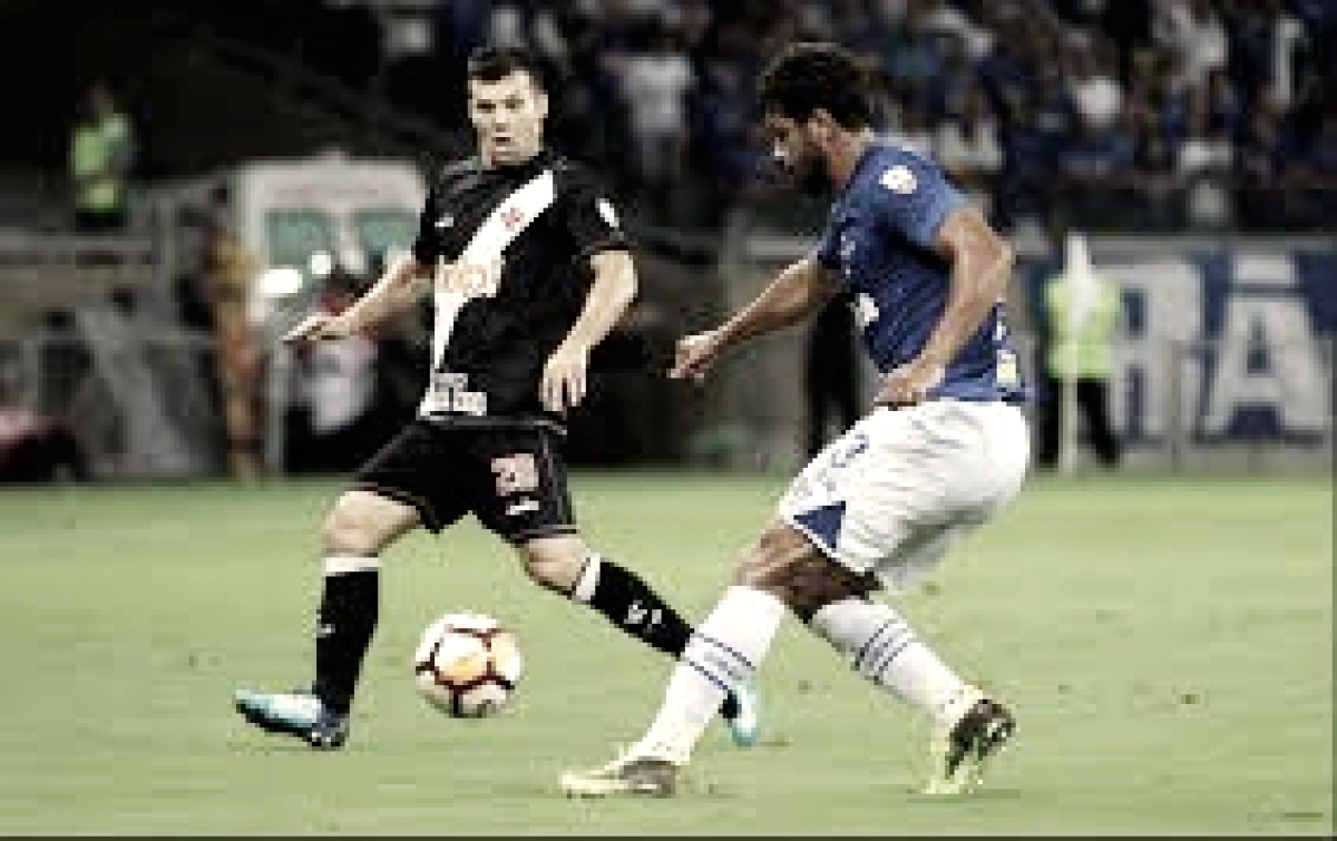 Em situações opostas, Cruzeiro e Vasco se enfrentam no Mineirão pelo Campeonato Brasileiro