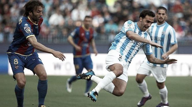 Málaga - Levante: duelo de equipos europeos