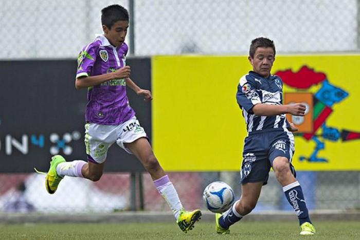 Monterrey destrozó a Jaguares Sub-13