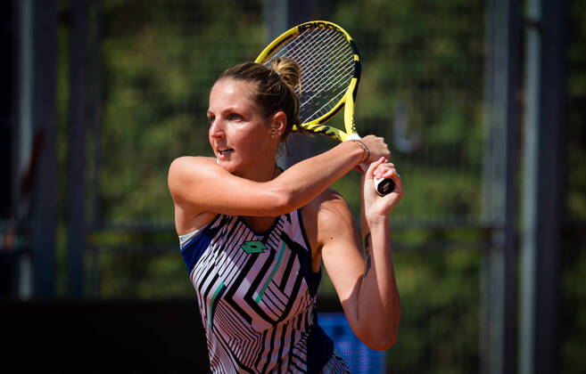 "WTA Prague: Kristyna Pliskova feels like she's ""playing better on clay"""