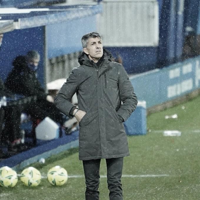 Imanol: «El Nápoles no estará muy tranquilo en enfrentarse a esta gran Real Sociedad»