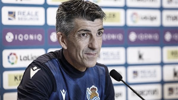 """Imanol Alguacil: """"Pido mucho al equipo, también a mi mismo"""""""