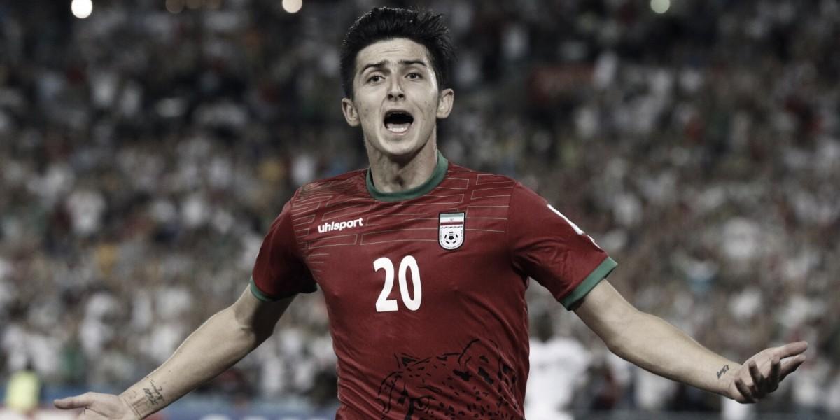 "Joven promesa de Irán 2018: Sardar Azmoun, el ""Messi"" de Medio Oriente"