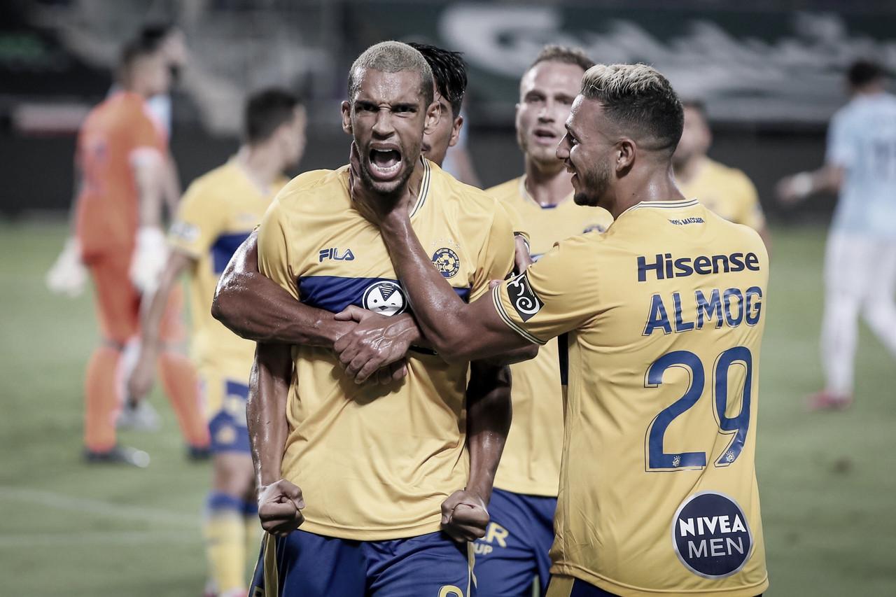 El Maccabi Tel Aviv será uno de los tres rivales en esta fase de grupos de la UEL // FOTO: Maccabi Tel Aviv