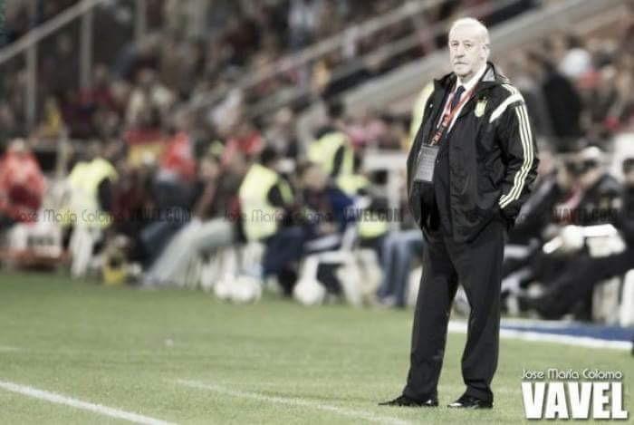 """Vicente del Bosque: """"Estoy feliz por el equipo y por Julen Lopetegui"""""""