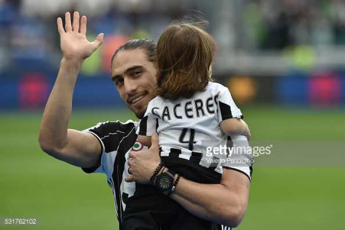 Southampton confirm Caceres signing until the end of the season