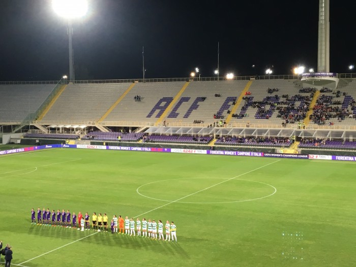 UWCL – Fiorentina 2-1 Fortuna Hjørring: Italians hold the edge going into second leg