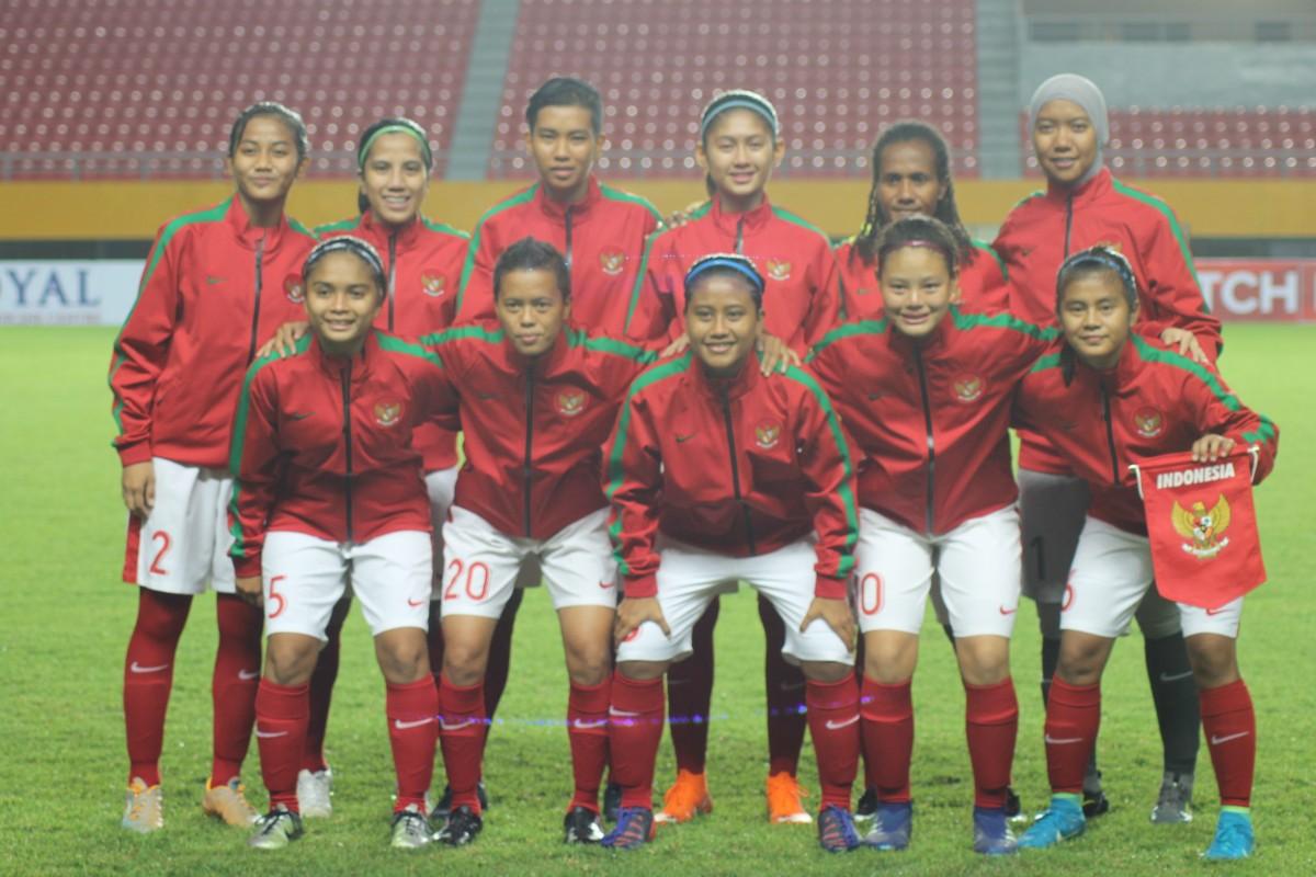 Timnas Wanita Melesat ke Peringkat 77 FIFA