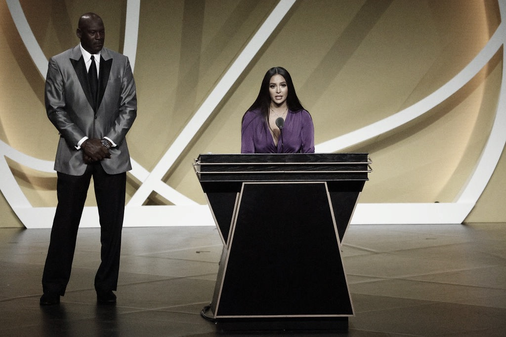 Kobe Bryant Inducted into the Naismith Memorial Basketball Hall of Fame
