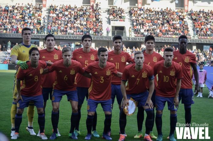 La selección española vuelve al Salto del Caballo