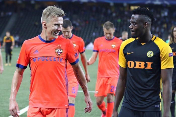 Свой среди чужих, чужой среди своих: ЦСКА обыграл Янг Бойз благодаря курьёзному автоголу