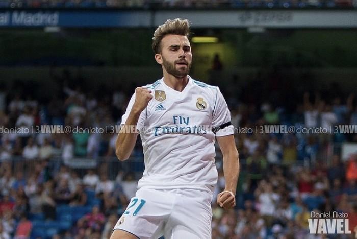 Borja Mayoral: ''Estoy feliz en el Madrid y es donde quiero estar''