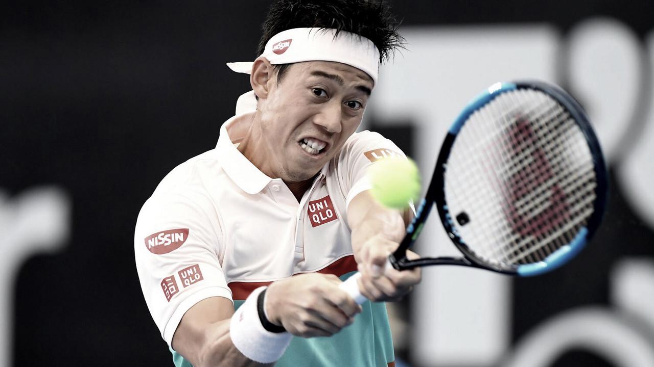 Nishikori vence a Chardy y avanza a la final de Brisbane