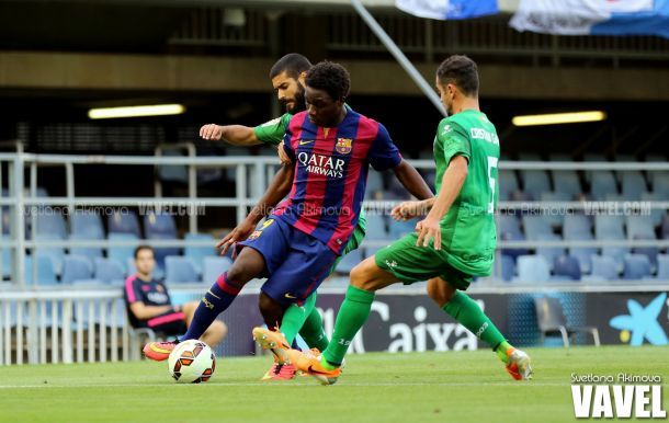 Estreno con victoria del Barça B en el Mini