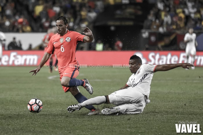 Images of Chile 2-0 Colombia Copa America Centenario 2016