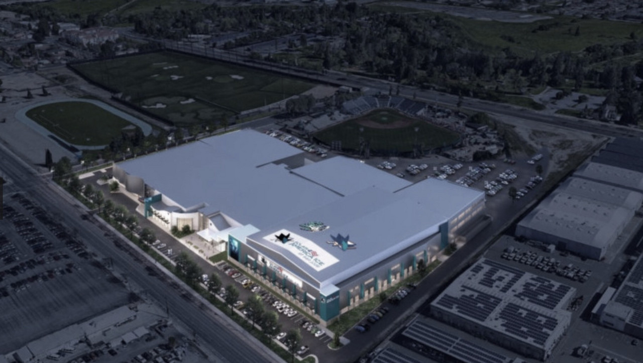 San Jose Sharks amplian su complejo deportivo