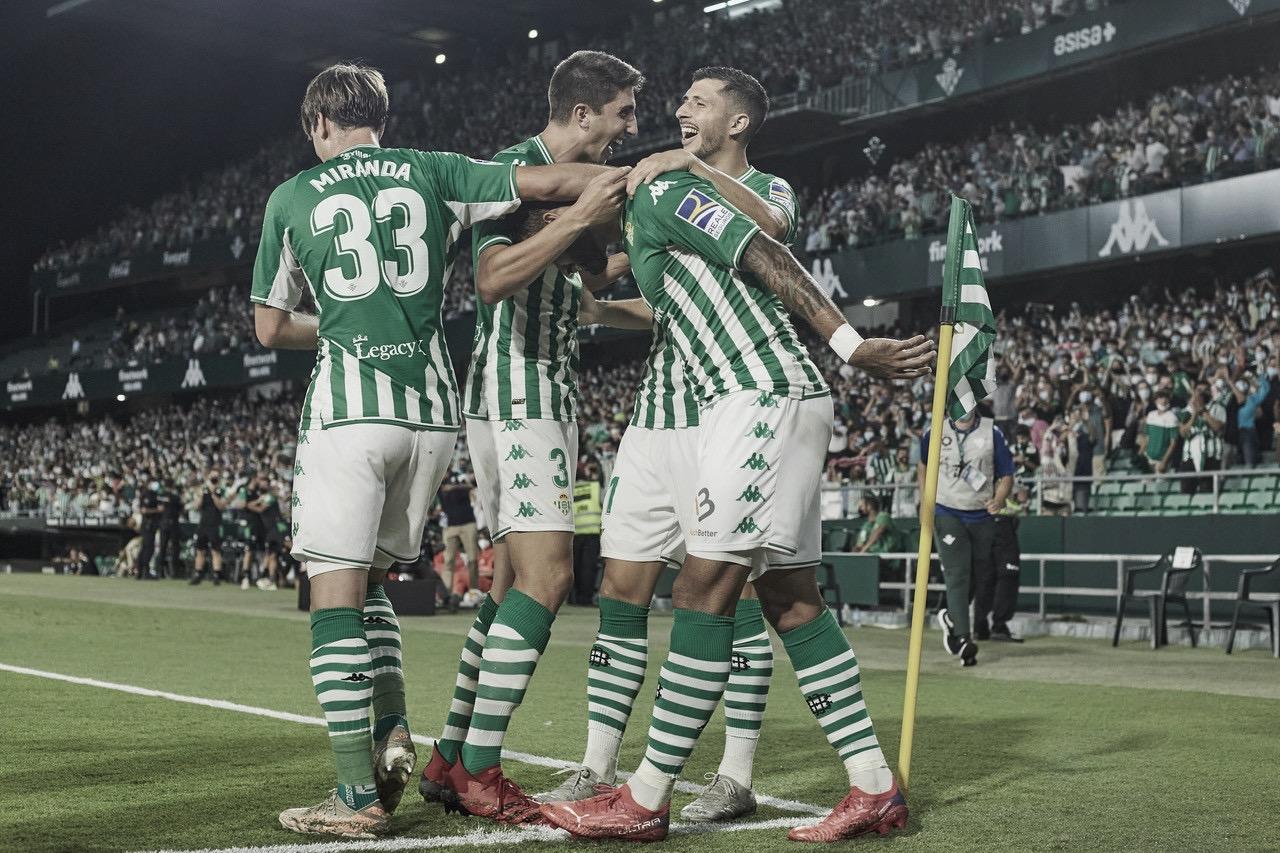Betis 2-0 Getafe; Willian José al rescate