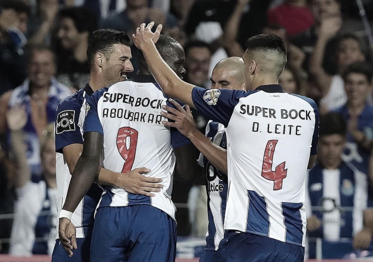 El Porto se da un festín en do Dragão
