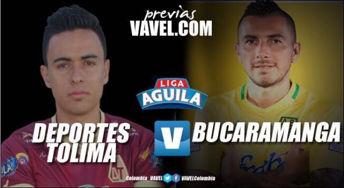 Previa Deportes Tolima - Atlético Bucaramanga: Choque con diferentes objetivos