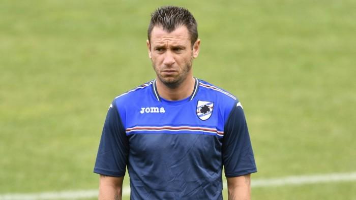 "Sampdoria, Cassano saluta al veleno: ""Certi abbracci me li aspettavo da altri"""