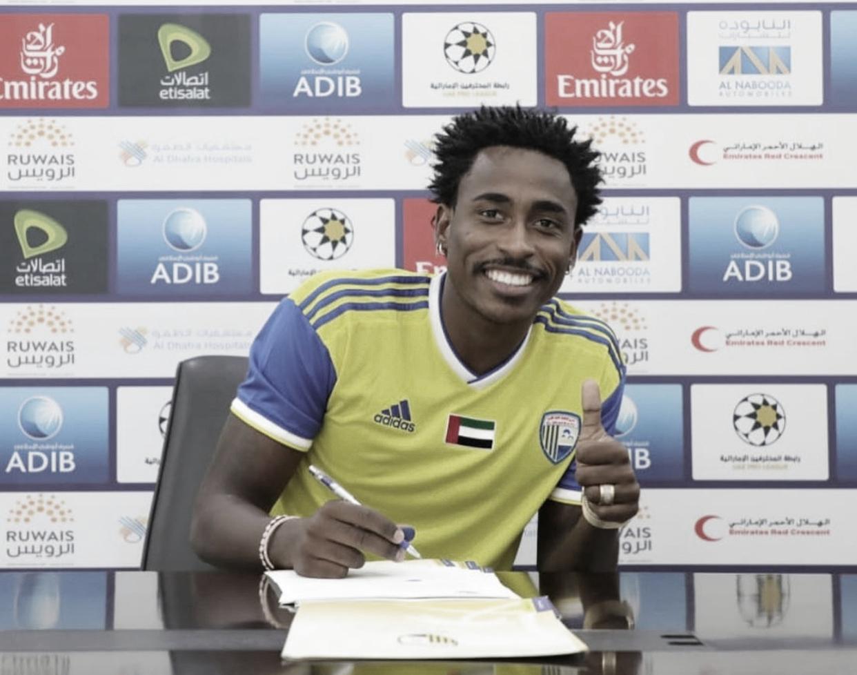 Após passagem em Portugal, atacante Denilson retorna ao futebol árabe e assina vínculo com Al Dhafra