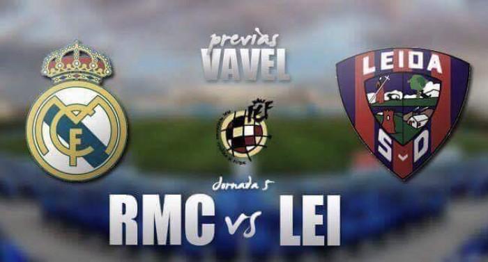 Previa RM Castilla vs SD Leioa: el campeón recibe al líder