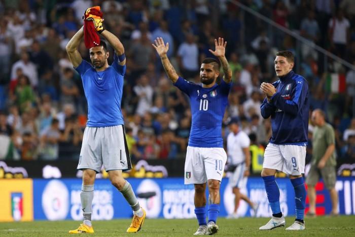 Qualificazioni Russa 2018 - L'Italia batte il Liechtenstein: il post azzurro