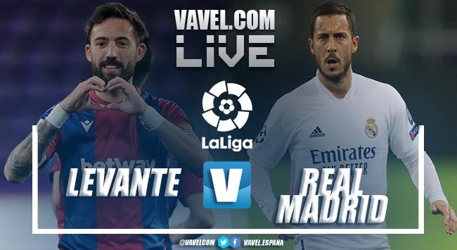 Resumen Levante vs Real Madrid en LaLiga 2021 (3-3)
