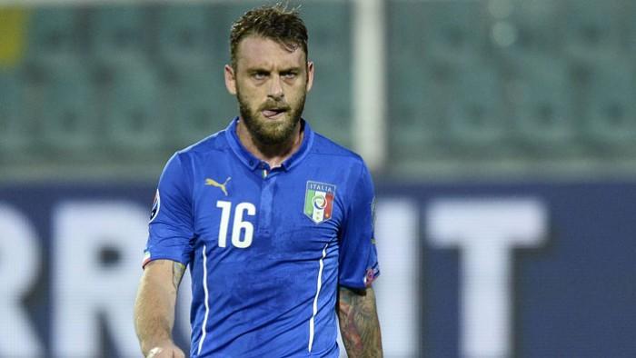 Roma, ematoma muscolare per De Rossi: salterà l'Empoli in vista del derby