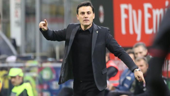 """Milan, Montella: """"Non mi fido per niente dell'Inter, ma vogliamo vincere il derby"""""""